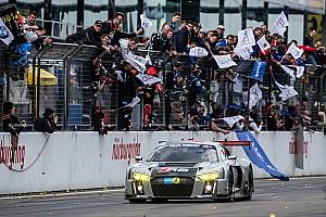 Endurance Reporte de la carrera 24 Horas de Nürburgring: el WRT Audi sobrevive a un incendio para ganar la carrera