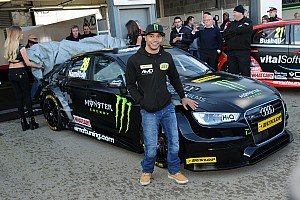 BTCC Breaking news Hamilton gets first BTCC test mileage at Brands Hatch