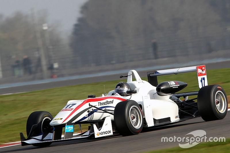 Moreno arrancó actividad en Monza