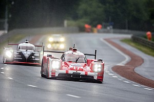 Le Mans Testing report Location check: good test day for the three Porsche 919 Hybrids