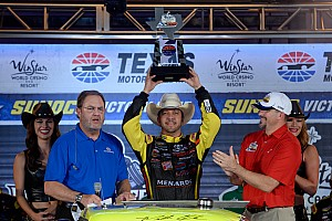 NASCAR Truck Race report Crafton victorious at Texas