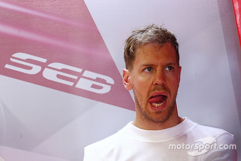 Vettel vows to bounce back on Sunday