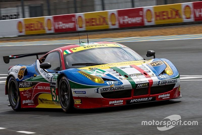 Déception pour Ferrari AF Corse en GTE Pro - Motorsport.com