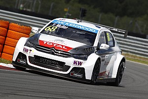 WTCC Qualifying report Citroën claims qualifying treble at the Slovakia Ring