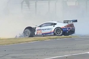 Le Mans Breaking news Goethe sets record straight on back-breaking Aston crash