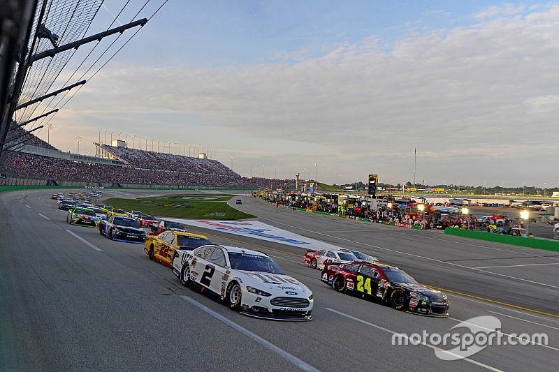 Racing is alive and well at Kentucky Speedway