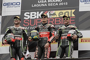 World Superbike Race report Davies on the double at Laguna Seca