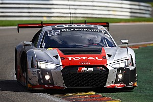 Blancpain Endurance Race report Audi R8 LMS clinches second and third place at Spa