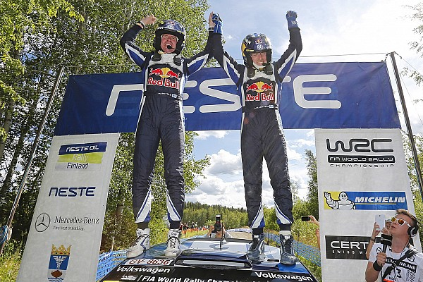 Rally Finland Day 3: Latvala hangs on for home victory