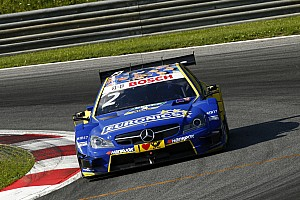 Gary Paffett finishes second in the second race at Spielberg to secure his 35th DTM podium