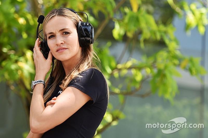 Ecclestone defends Carmen Jorda's F1 ambitions