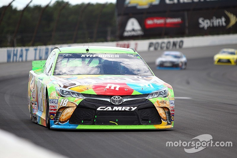 Kyle Busch likes Chase qualification rules just the way they are
