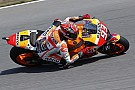 "Marquez ""felt comfortable"" shadowing Rossi in qualifying"