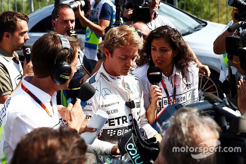 Rosberg vuelve a liderar, pero sufre una escalofriante falla en un neumático