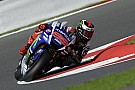 Yamaha scores first and second row in Silverstone qualifying