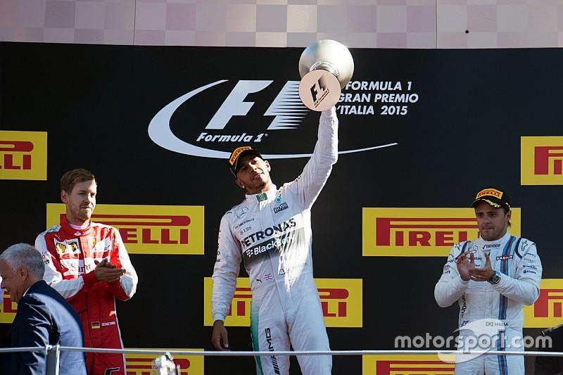 Confirmada la victoria de Hamilton en Italia