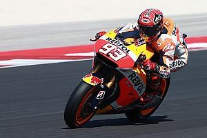 MotoGP Practice report Misano MotoGP: Marquez sets warm-up pace