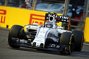 Formula 1 Qualifying report Bottas qualified seventh and Massa ninth for the Singapore GP