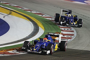 Formula 1 Race report Sauber scores another point in the Singapore GP