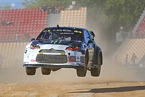 World Rallycross Race report Solberg wins Barcelona RX after dominant final