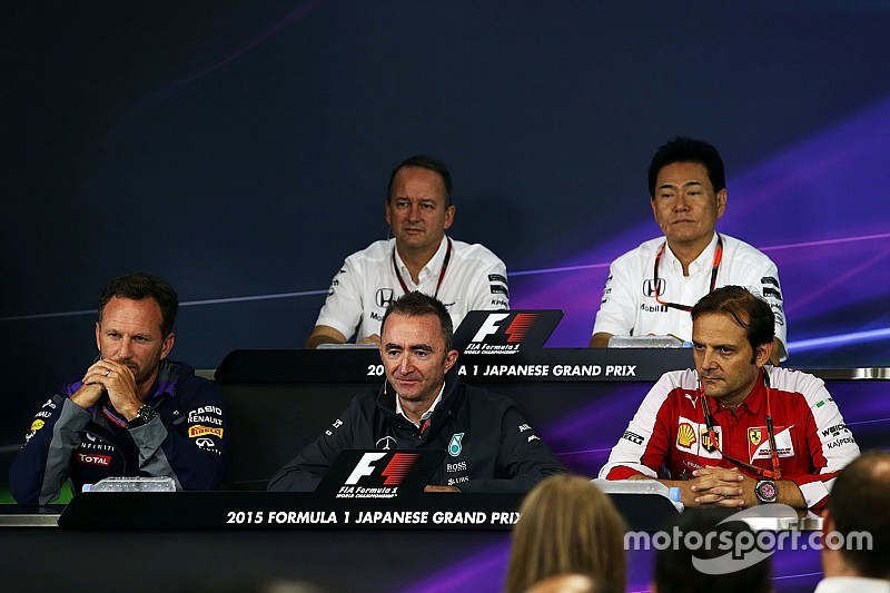 Japanese GP: Friday's press conference