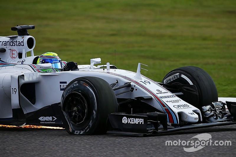 Massa é quem mais perdeu posições em largadas desde Spa