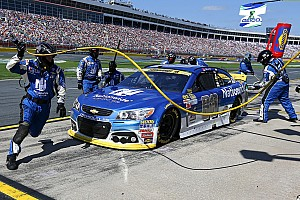 NASCAR Sprint Cup Breaking news Oil or not, Chasers Dale Jr. and Kyle Busch are in trouble
