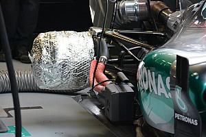 Formula 1 Analysis Tech analysis: Mercedes brake heating a tyre boost
