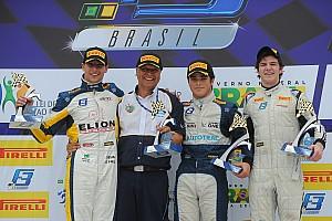 Fórmula 3 Brasil Relato da corrida Campeão, Pedro Piquet vence décima seguida na F3