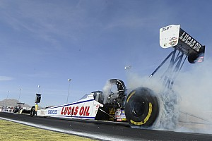 NHRA Preview Crampton looks to keep perfect final round streak intact with win at Las Vegas