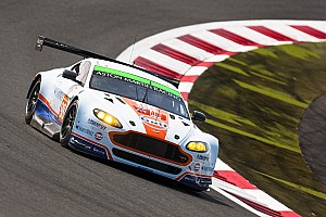 WEC Race report Aston Martin takes GTE AM podium in Shanghai