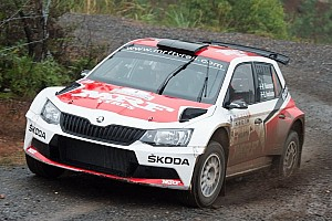 Other rally Breaking news Champion Tidemand ends APRC season on a high, Gill crashes out