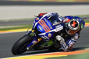MotoGP Practice report Valencia MotoGP: Lorenzo fastest in FP2, Rossi down in fourth