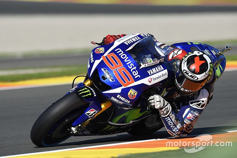 Valencia MotoGP: Lorenzo fastest in FP2, Rossi down in fourth