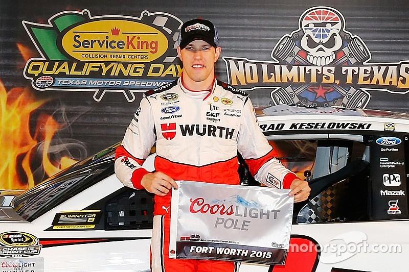 NASCAR Texas 2: Brad Keselowski holt die Pole-Position