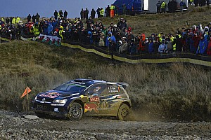 WRC Leg report Wales WRC: Ogier reinstated as leader, Paddon and Prokop collide
