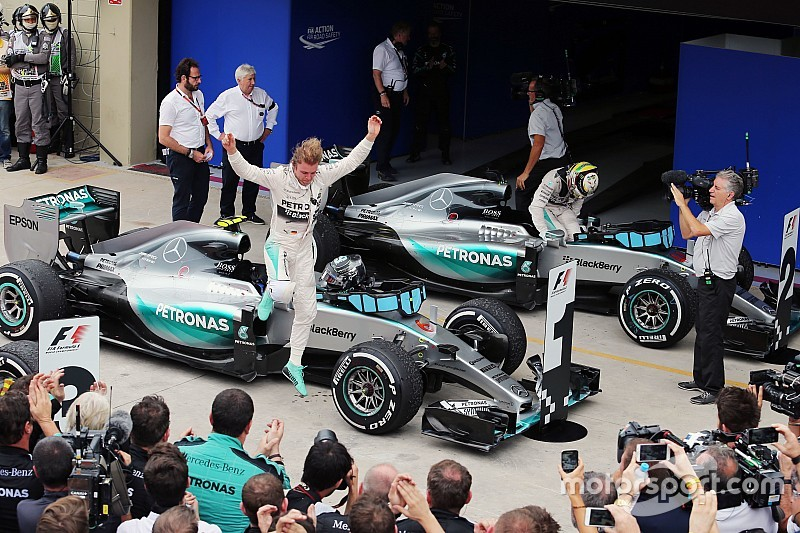 """Rosberg: Hamilton killed tyres due to """"way he was driving"""""""