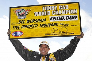 NHRA Race report Worsham and Hines earn NHRA Mello Yello Series World Championship titles