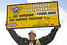 NHRA Worsham and Hines earn NHRA Mello Yello Series World Championship titles