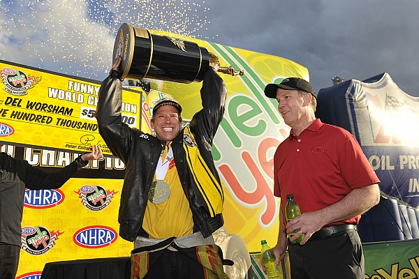 NHRA Breaking news Final two champions crowned in NHRA finale