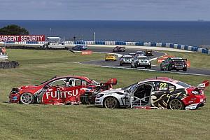 V8 Supercars Breaking news Courtney called for better leg protection in 2013