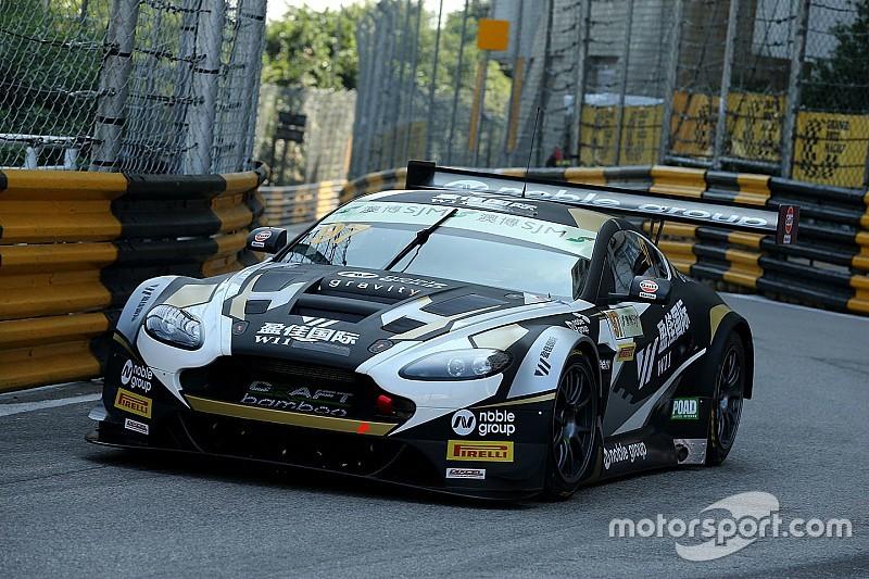 GT World Cup in Macau: Dramatisches Qualifying, Aston Martin auf Pole