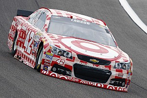 NASCAR Sprint Cup Practice report Larson, Harvick top Saturday morning practice