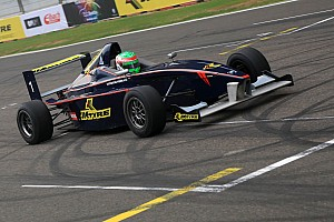 Indian Open Wheel Race report Peroni notches up his second JK Racing win