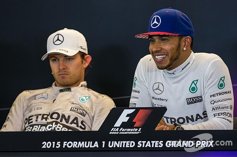 Lewis Hamilton: 'Nico klaagt nou eenmaal veel'