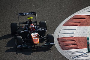 GP3 Testing report Fuoco and Aitken lead on Day 2 of Abu Dhabi test