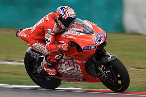 MotoGP Breaking news Stoner to make Ducati test return in January