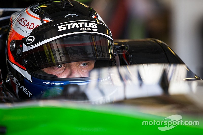 EK F3-kampioen Felix Rosenqvist test Indy Lights