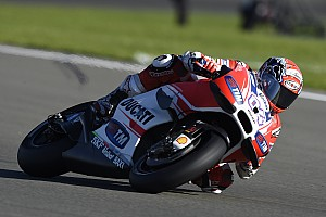 "MotoGP Breaking news Ducati targets winning ""at least"" two races in 2016"