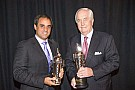 "Penske and Montoya receive ""Baby Borgs"" in Detroit"